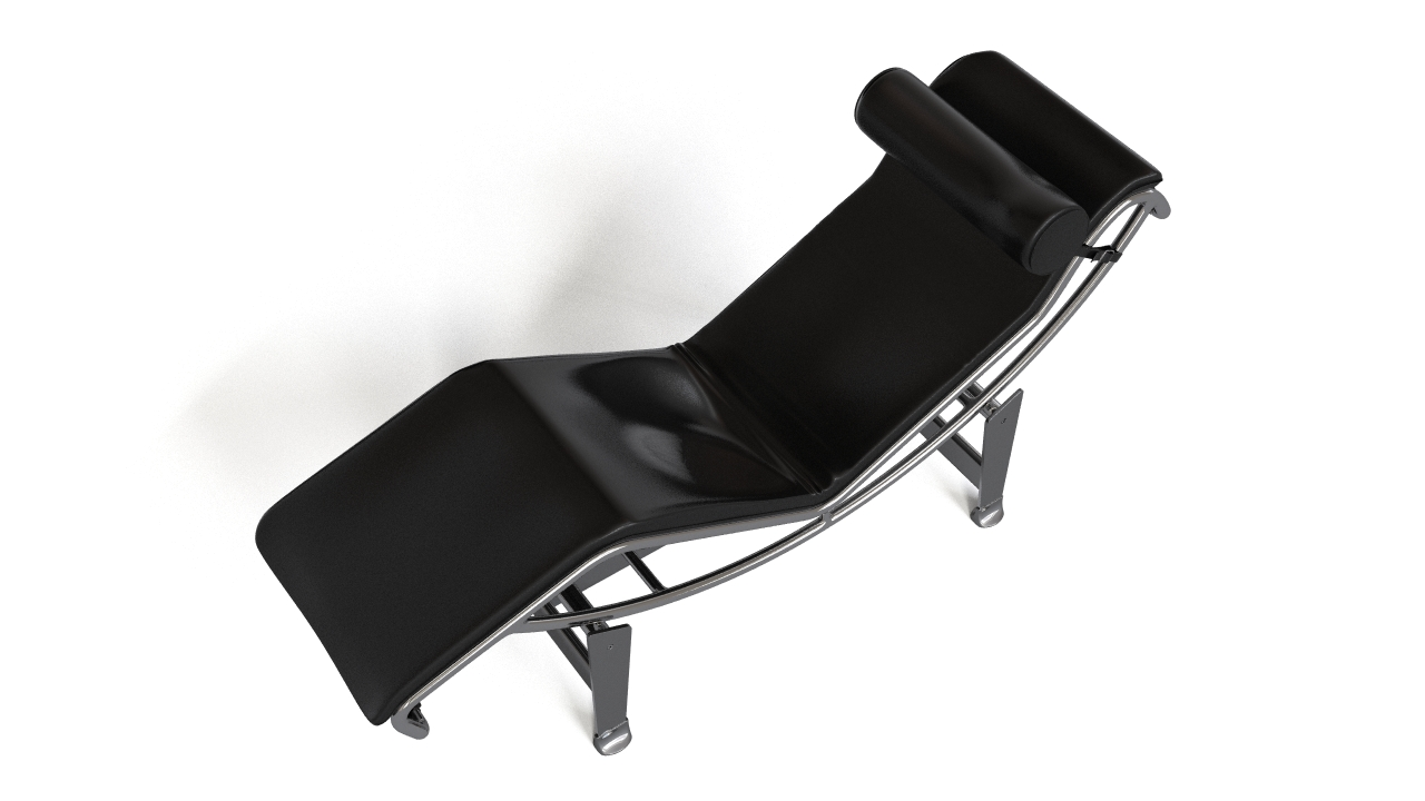 Lc4 chaise lounge by le corbusier flyingarchitecture for Chaise longue lc4 occasion