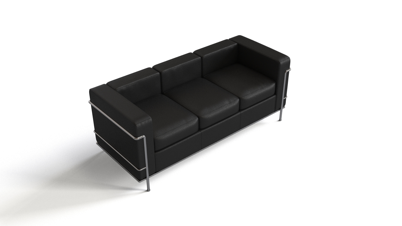 Le corbusier 39 s lc2 sofa flyingarchitecture for Le corbusier sofa nachbau
