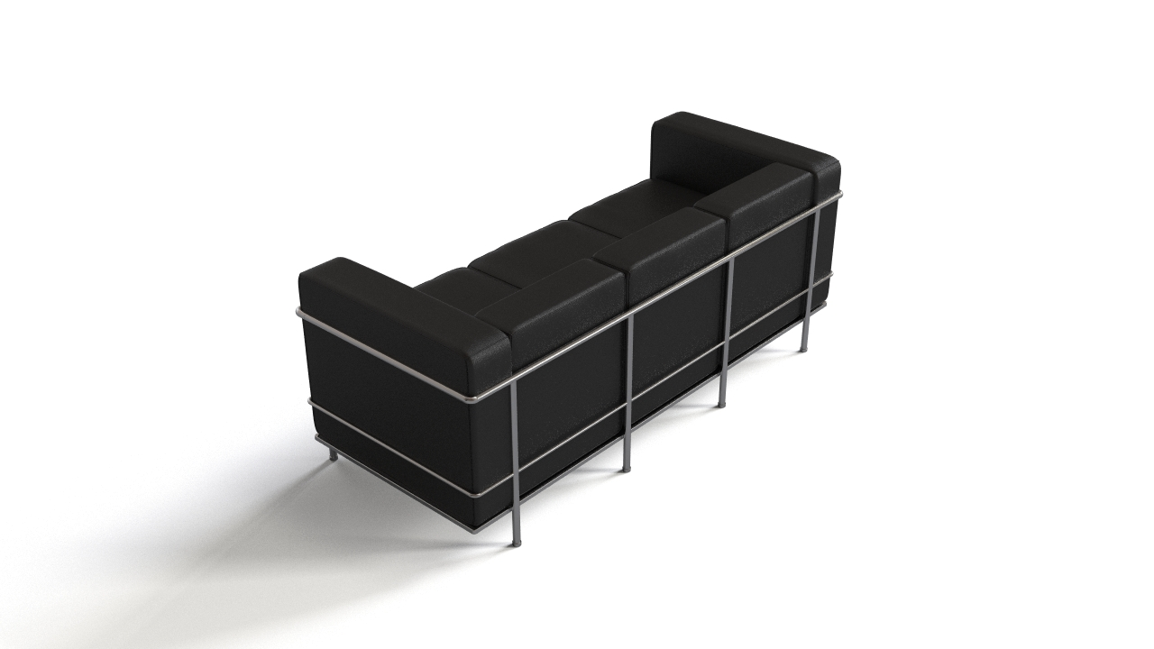 le corbusier 39 s lc2 sofa flyingarchitecture. Black Bedroom Furniture Sets. Home Design Ideas