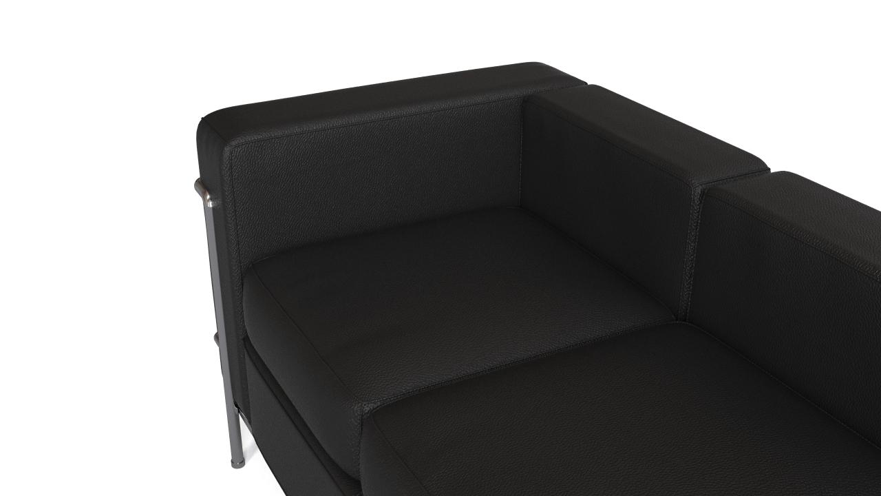 Le corbusier 39 s lc2 sofa flyingarchitecture - Canape lc2 le corbusier ...