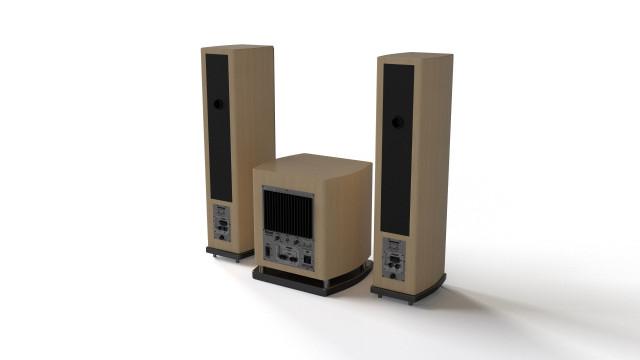 Magnat sound system