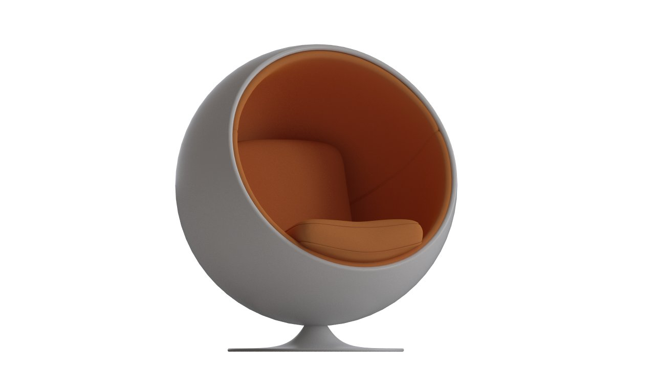 ball chair by eero aarnio flyingarchitecture. Black Bedroom Furniture Sets. Home Design Ideas