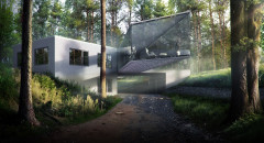 Forest House - modeling
