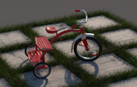 Video - V-Ray Fur for grass