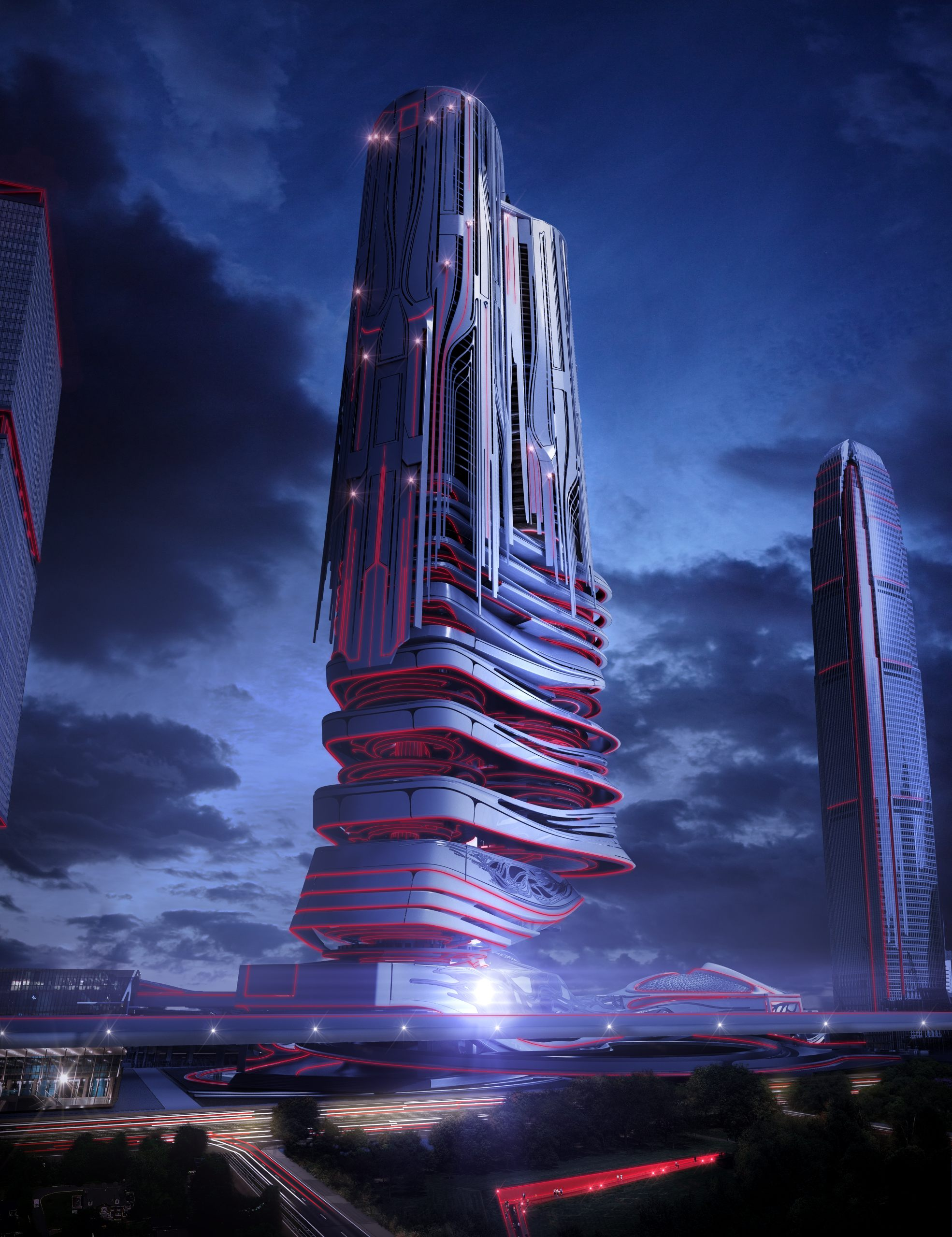Evolo competition futuristic skyscraper flyingarchitecture Concept buildings