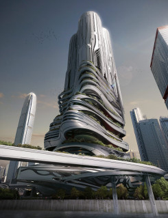 EVolo competition – futuristic skyscraper