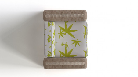 Bamboo strip armchair