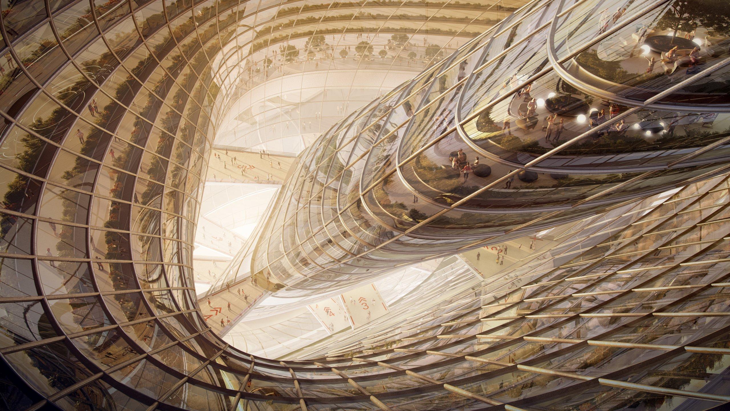 Ephemere highrise flyingarchitecture for Architecture ephemere definition