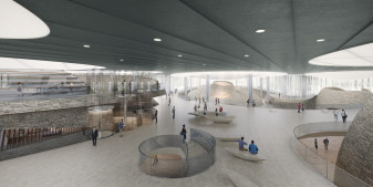 Cyprus Museum competition - Interiors