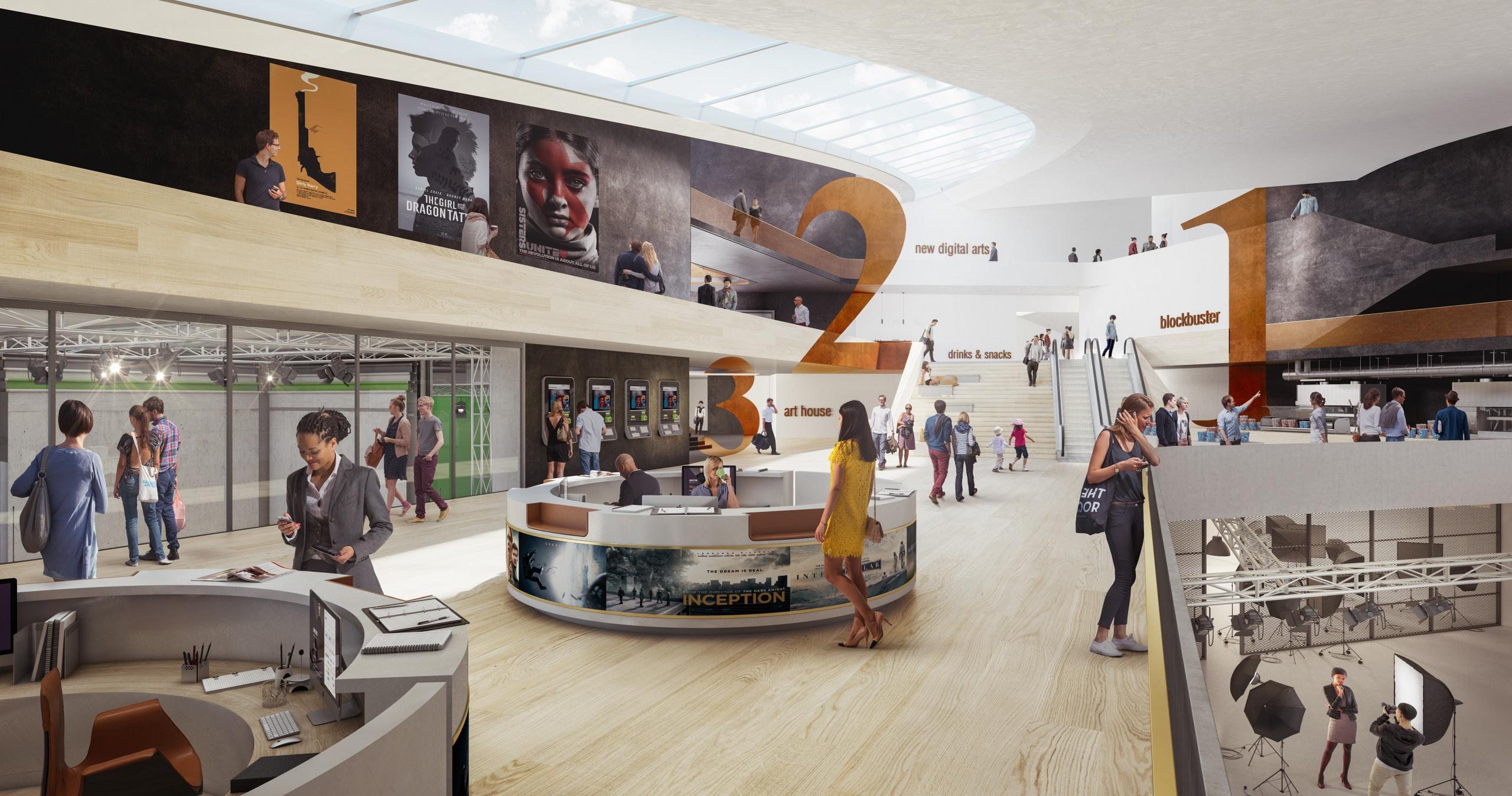 Centre Culturel Dédié Au 7è Art