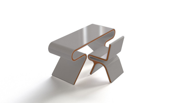 Omega chair and table