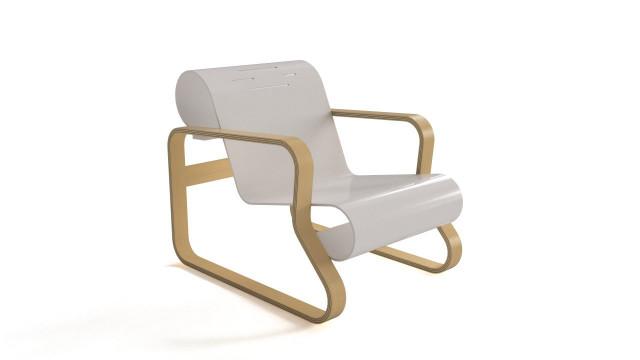 Paimio armchair by Alvar Aalto