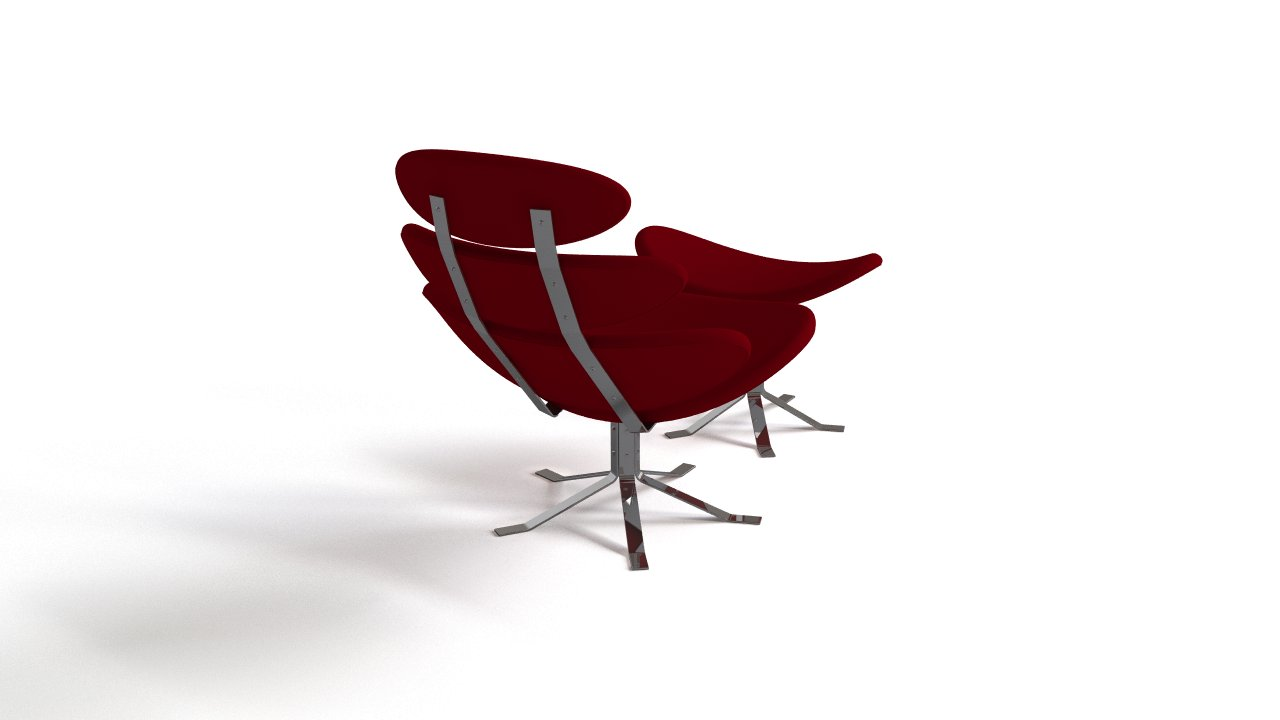 Petal Lounge Chair With Ottoman Flyingarchitecture