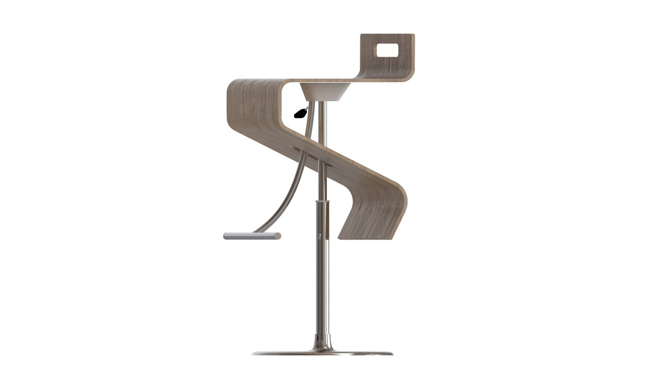 Bar chair | FlyingArchitecture