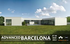 Architectural visualization workshop in Barcelona 2013