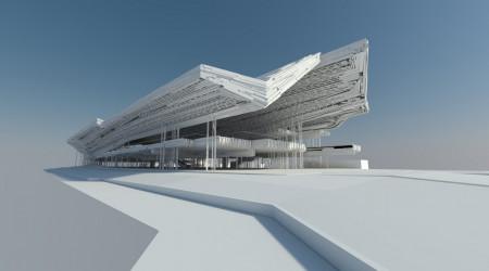 Visualizations for Guggenheim Museum in Helsinki