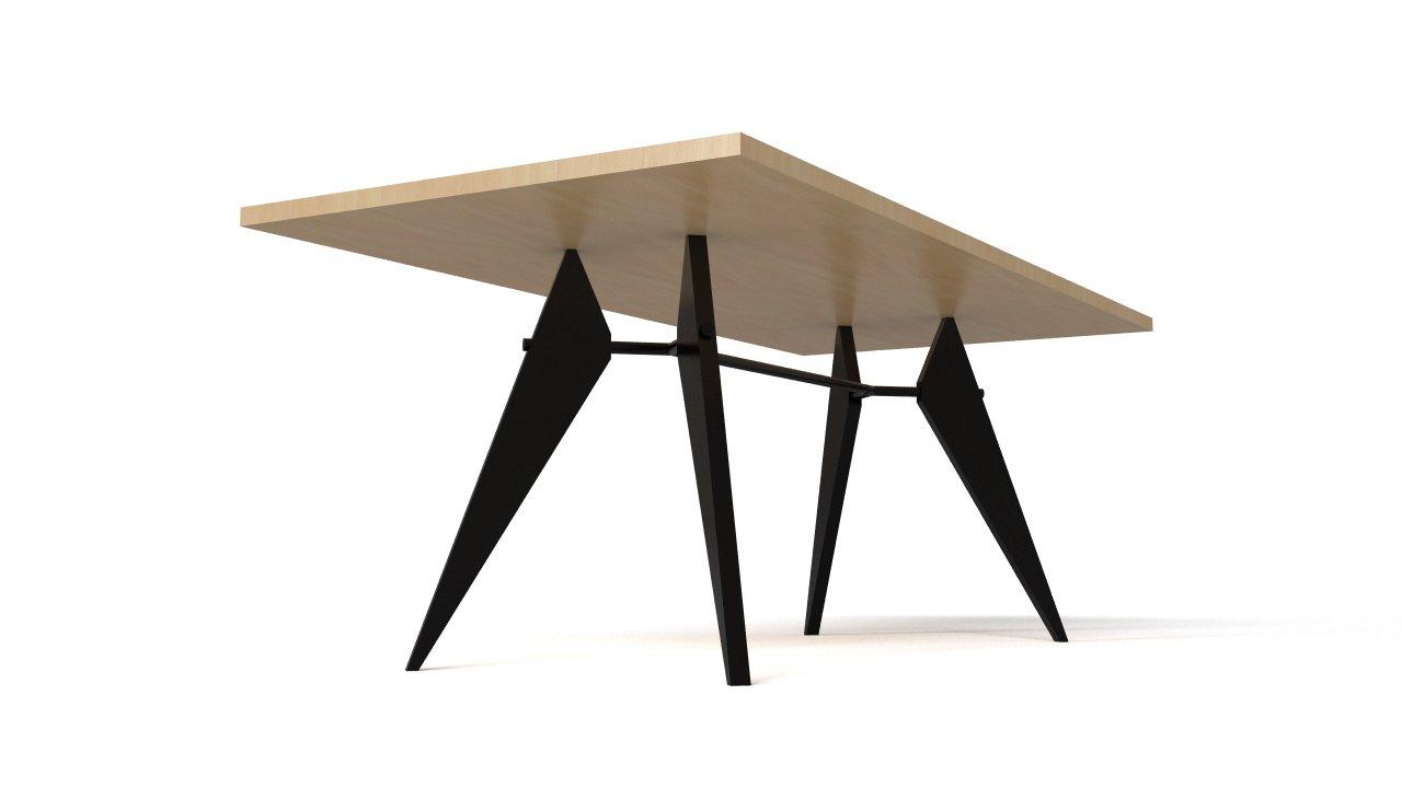 Prouve Em Table 1950 Flyingarchitecture