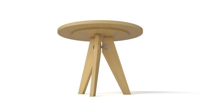 Prouve Gueridon table