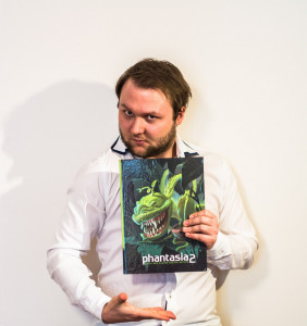 Phantasia 2: The book, where our works have been appreciated and published