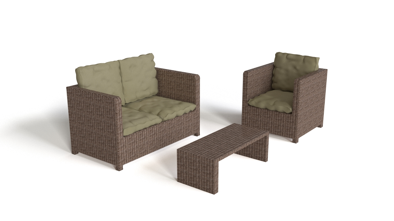Rattan Patio Seating