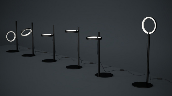 Artemide Ipparco lamp pack