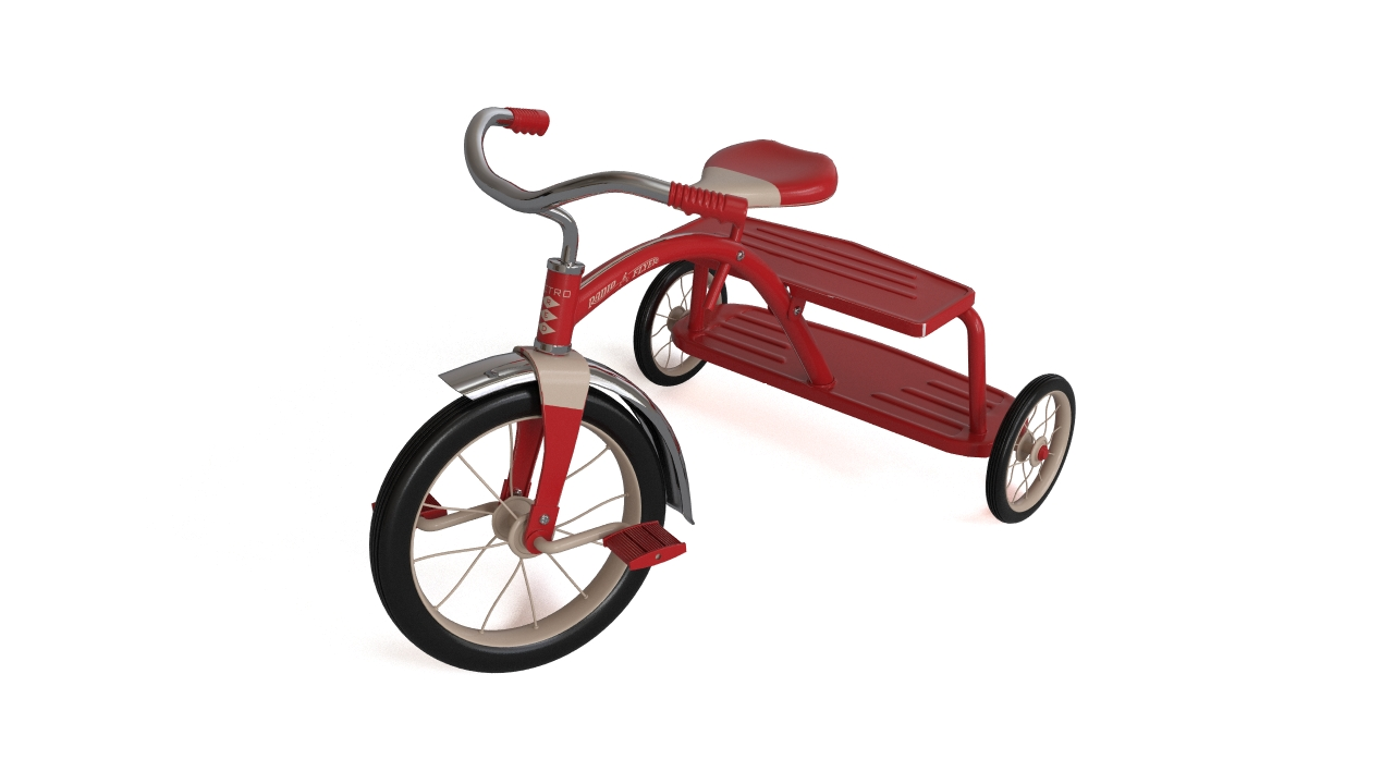 RF retro tricycle