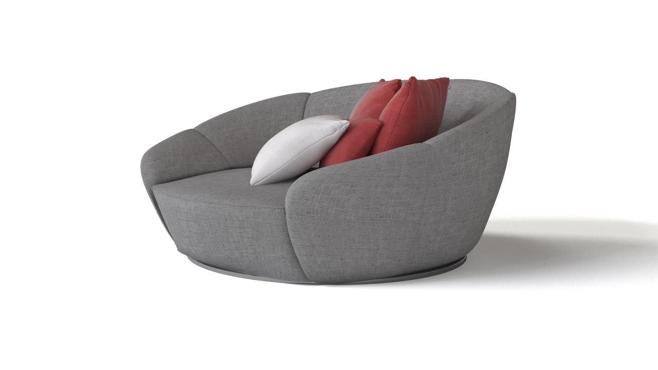 354 round armchair 2
