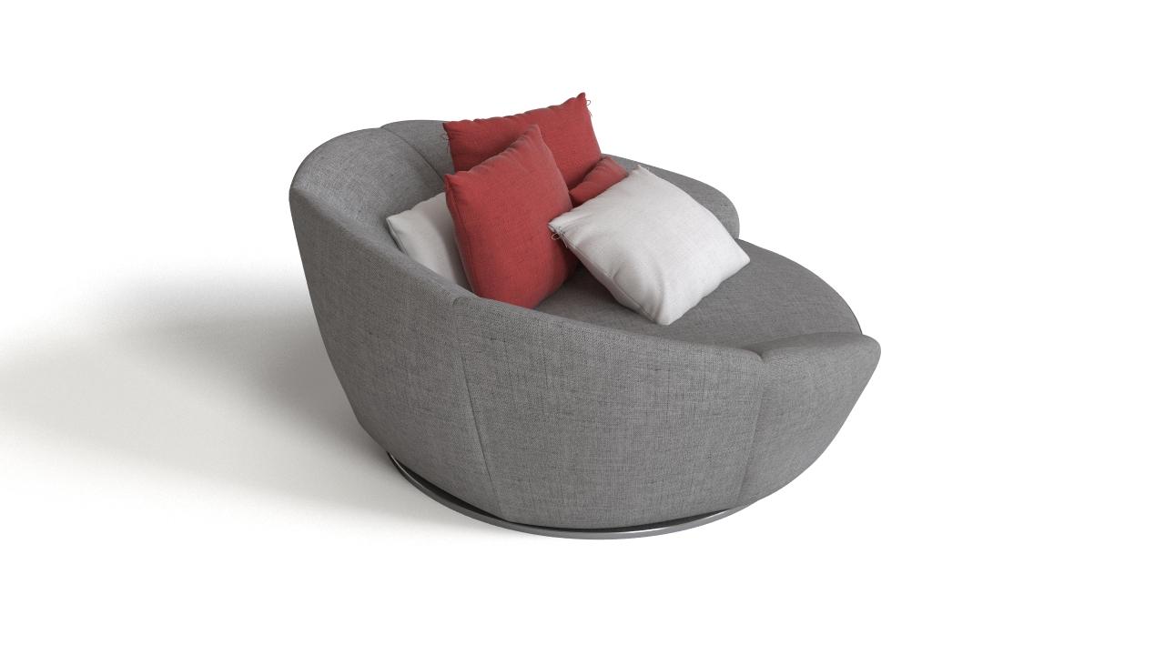 Round armchair | FlyingArchitecture