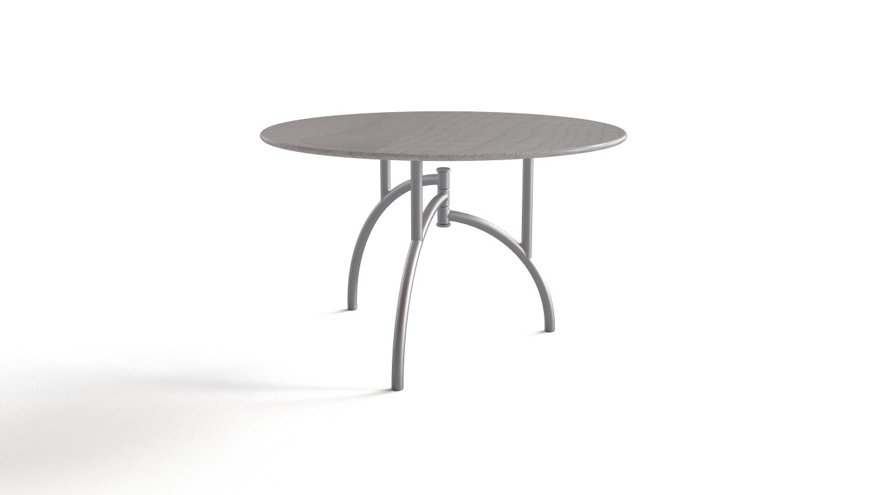 Round Collapsible Table