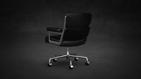 Eames lobby chair