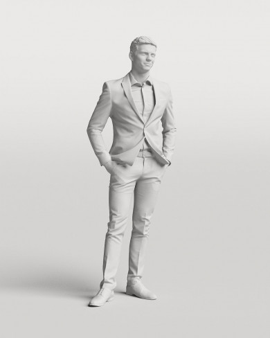 3D Business people - Man 01