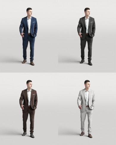 3D Business people - Man 02