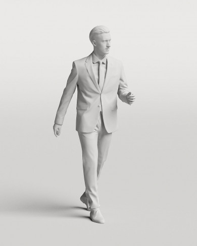 3D Business people - Man 03
