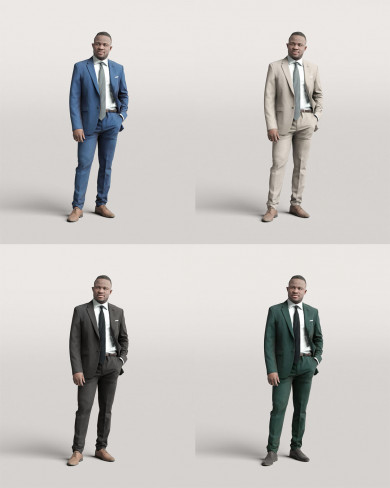 3D Business people - Man 06