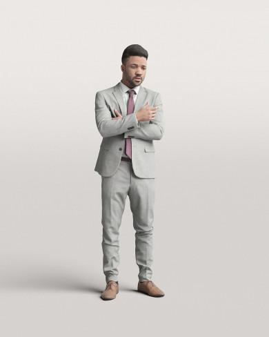3D Business people - Man 07