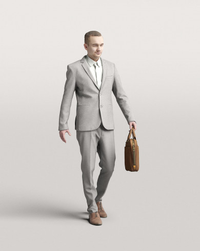 3D Business people - Man 08