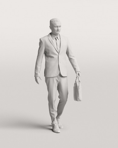 3D Business people - Man 08
