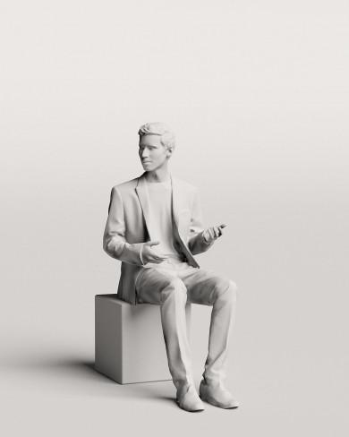 3D Business people - Man 10