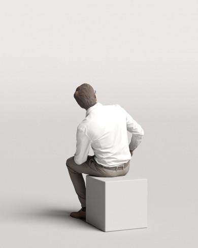3D Business people - Man 11