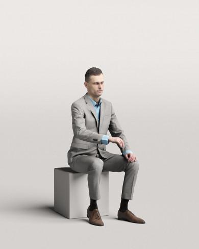 3D Business people - Man 12