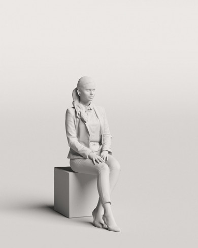3D Business people - Woman 06