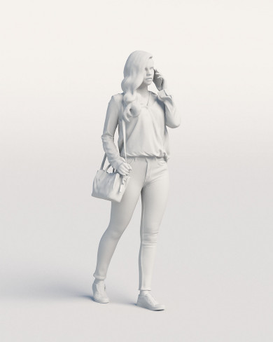 3D Casual people - Woman 01
