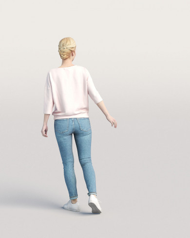 3D Casual people - Woman 03