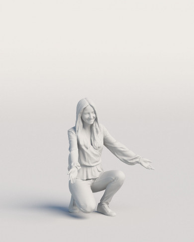3D Casual people - Woman 04