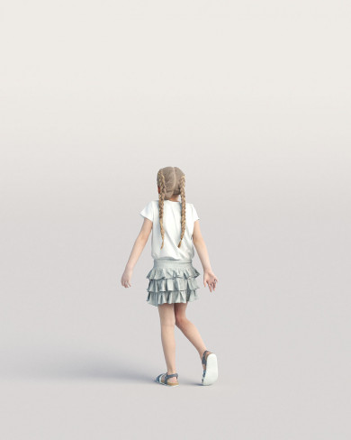 3D Casual people - Kid 01