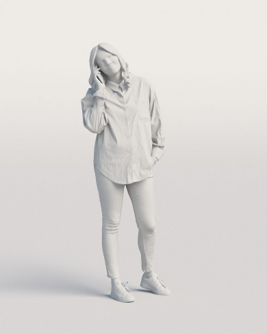 3D Casual people - Woman 05