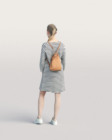 3D Casual people - Woman 06