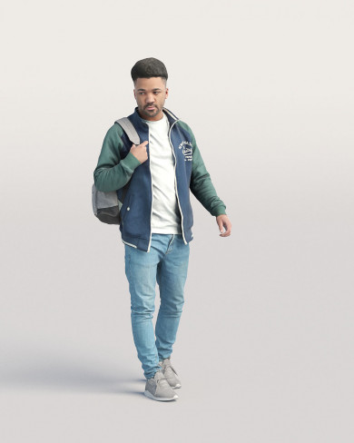 3D Casual people - Man 04