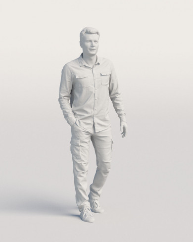3D Casual people - Man 05