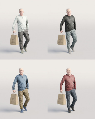 3D Casual people - Man 06